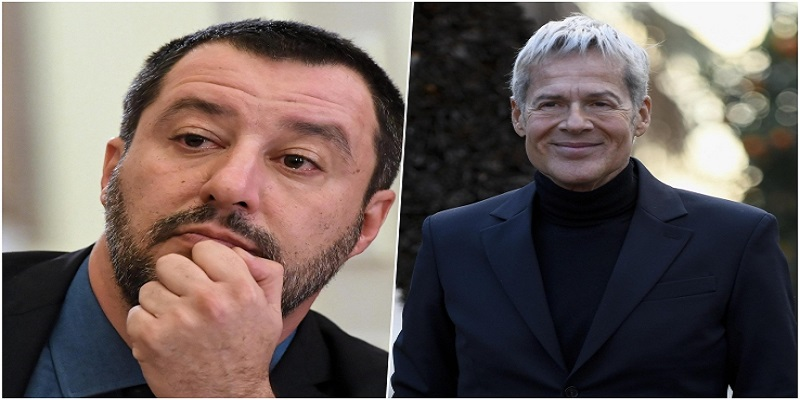 Salvini e Baglioni: dopo le polemiche è l'ora della pace.