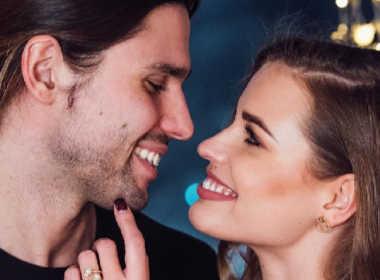 Ivana Mrazova e Luca Onestini