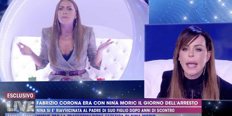Nina Moric contro Karina Cascella
