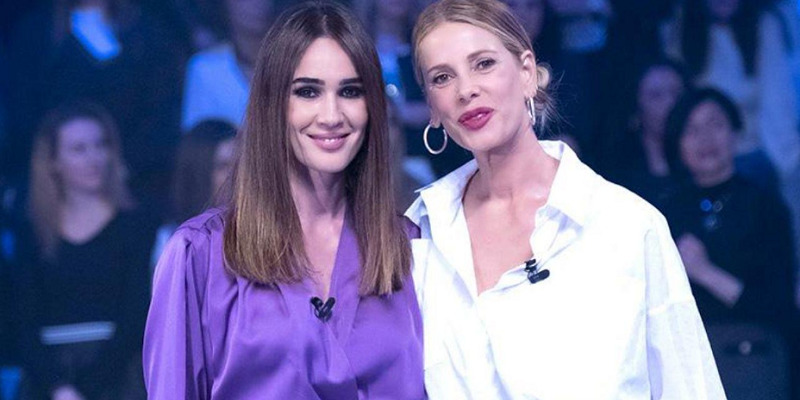 Alessia Marcuzzi e Silvia Toffanin a Verissimo