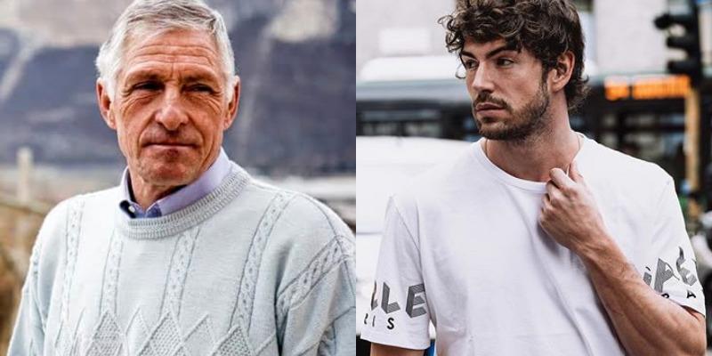 Ignazio Moser e Francesco Moser