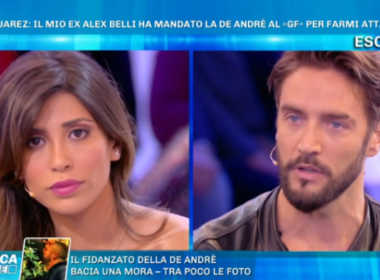 Mila Suarez contro Alex Belli