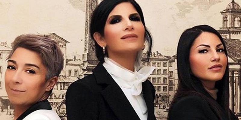 Pamela Perricciolo, Eliana Michelazzo e Pamela Prati