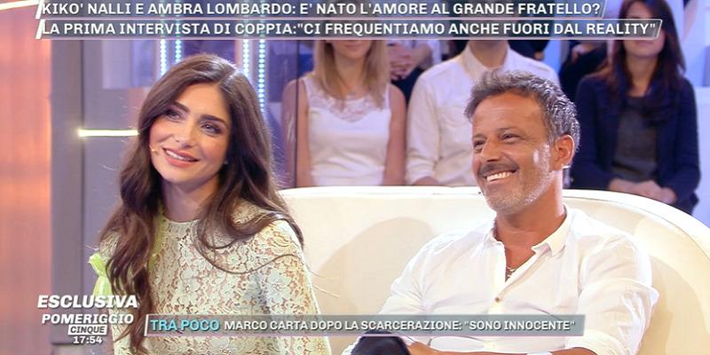 Chicco Nalli e Ambra Lombardo