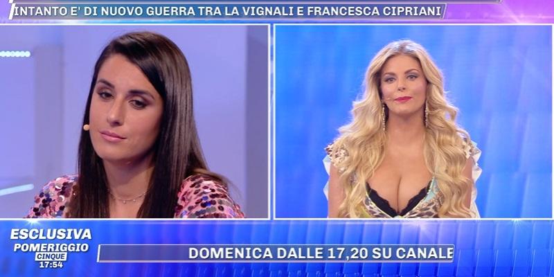 Valentina Vignali e Francesca De Andrè