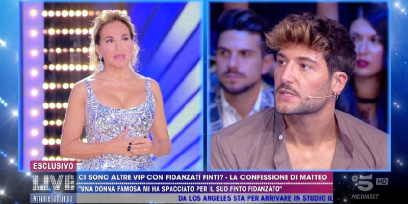 Matteo Alessandroni, Live - Non è la d'Urso