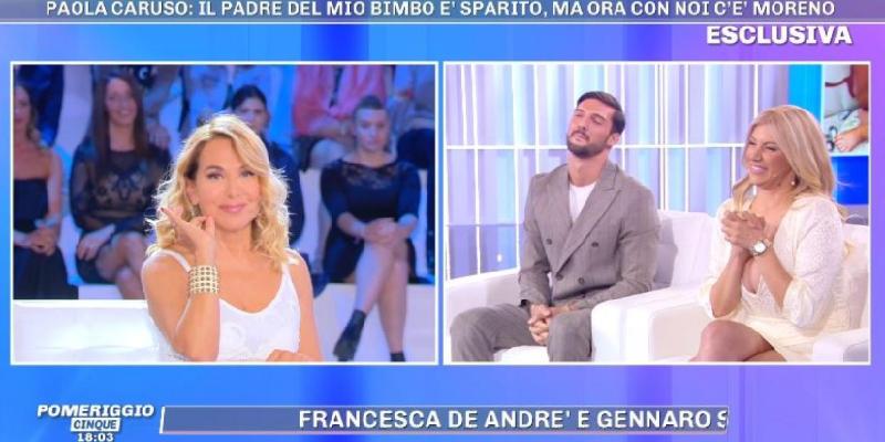 Paola Caruso, Barbara d'Urso rifiuta di fare da madrina a Michele