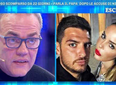 Luigi Favoloso, il padre parla della scomparsa