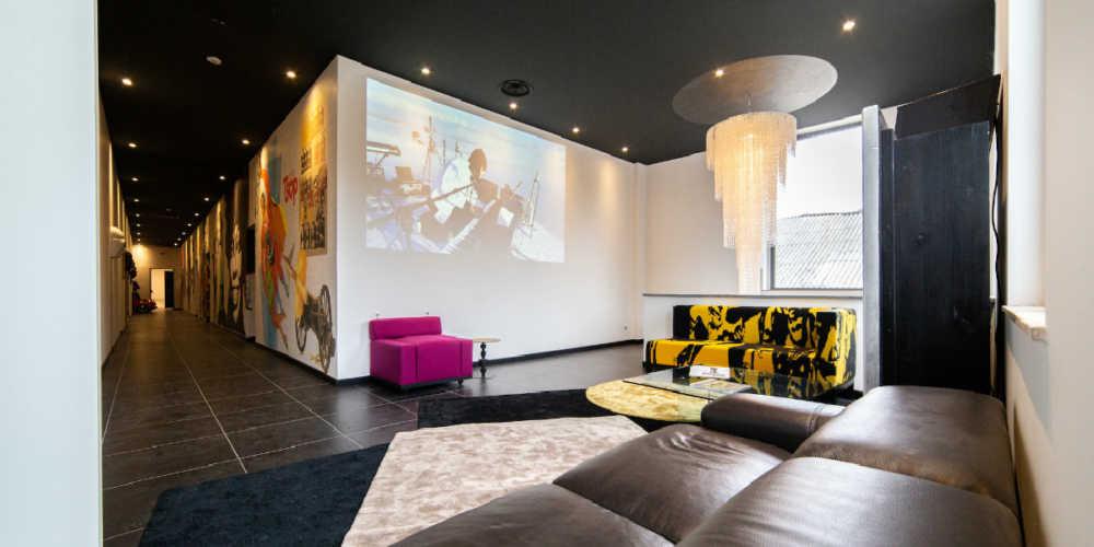 sound faktory 2020 lounge area