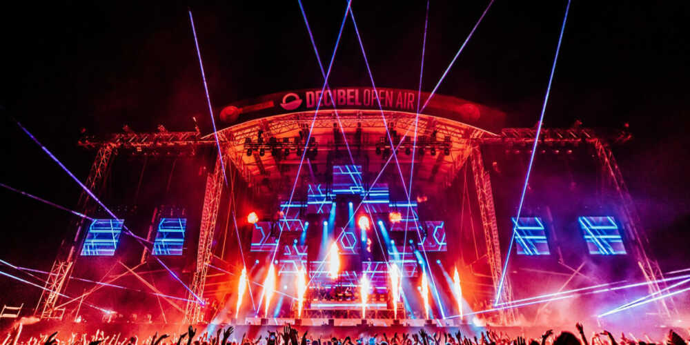 main stage @ decibel open air 2019