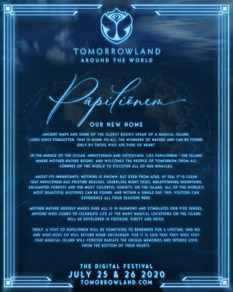 pāpiliōnem history @ tomorrowland