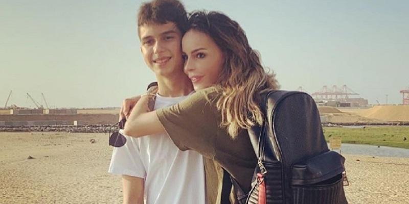 Nina Moric e Carlos Corona