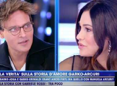 Manuela Arcuri e Gabriel Garko
