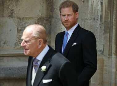 Harry e Principe Filippo