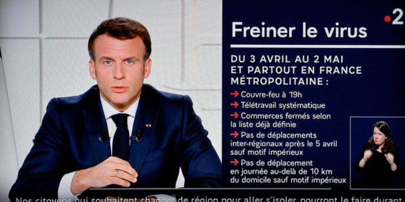 Coronavirus terzo lockdown in Francia