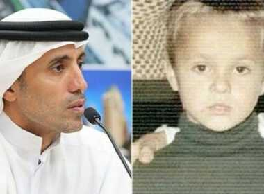 Mauro Romano e lo sceicco Mohammed Al Habtoor