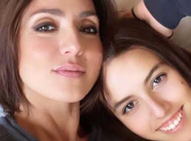Jolanda Renga con la madre