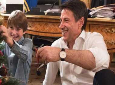 Niccolò Conte con Giuseppe