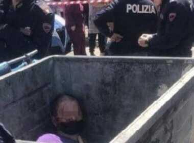 Scampia uomo aggredito e gettato nell'immondizia