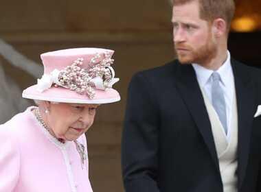 Regina Elisabetta e Harry