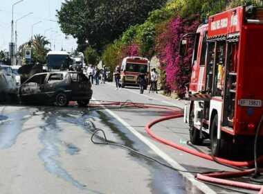 Sanremo incidente