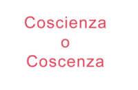 Coscienza o coscenza