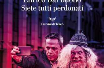 """Enrico Dal Buono, copertina del libro """"Siete tutti perdonati"""""""
