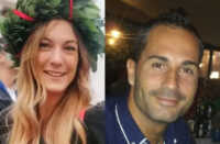 Emanuele Impellizzeri da un lato e Chiara Ugolini dall'altro