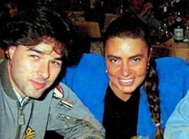 Roberto Berger insieme a Loredana Bertè