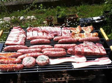 milano barbecue giardino tragedia