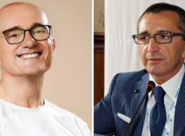 Alfonso Signorini e Paolo Galimberti