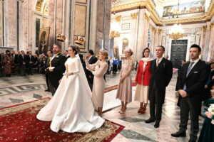 San Pietroburgo: Matrimonio del granduca George Mikhailovich e Rebecca Bettarini